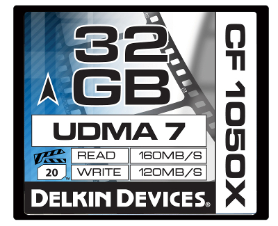 32GB CF 1050X UDMA 7 Cinema Card